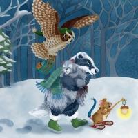SnowForestColorB3w