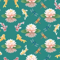 WaterlilyPattern2